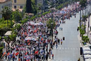 Рабочий Первомай в Греции: Классовый ответ капиталу