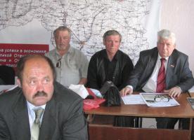 Избран новый секретарь Белгородского обкома КПРФ (ФОТОРЕПОРТАЖ)