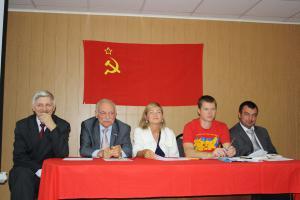 С.В. Муравленко – на областной комсомольской отчетно-выборной конференции в Белгороде