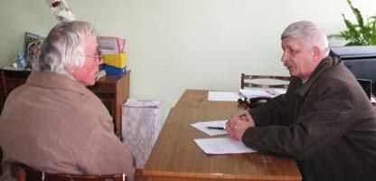 Депутат Белгородской областной Думы В.А. Шевляков провел прием в Вейделевке