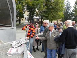 Белгородская организация «Дети войны» провела свой первый митинг