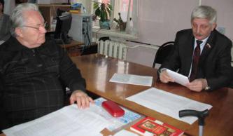 В Белгородском обкоме КПРФ прошла встреча с ветеранами партии