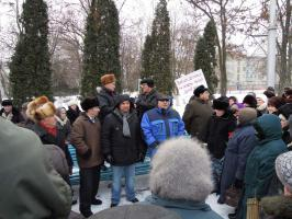 Губкинские «Дети войны» поддерживают Зюганова