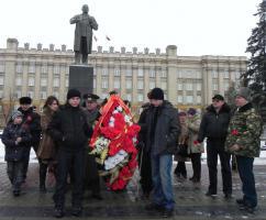 В Белгороде ветераны советских Вооружённых сил и коммунисты почтили память защитников Отечества