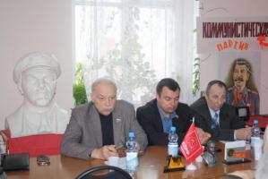 С.В. Муравленко на встрече в городе Губкин: «Выбор горняков очевиден – Геннадий Зюганов»