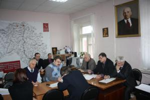 С.В. Муравленко на заседании предвыборного штаба белгородских коммунистов: «Надо максимально защитить голоса в поддержку Зюганова»