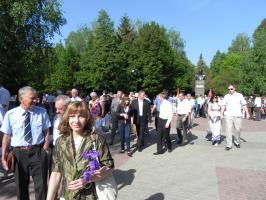 В Белгороде коммунисты и их союзники провели мероприятия в честь Дня Победы