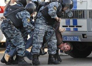 Полицейщина наступает! Число задержанных на Болотной площади возросло до 12 человек