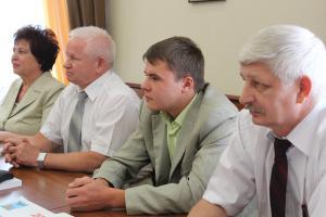 Белгородский коммунист Дмитрий Шевцов награждён медалью имени Гиренко