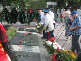 Белгородские коммунисты и их союзники почтили память героев освобождения Белгорода