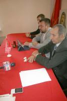 Пресс-конференция коммунистов в Губкине