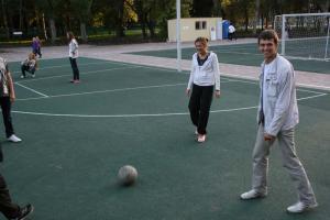 Комсомольские соревнования по футболу