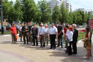 Цветы Ленину в день Великой Советской Победы!