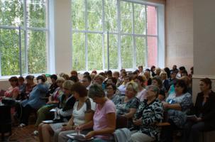 Валерий Шевляков принял участие в августовском педсовете школы-интернат №23