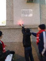 Комсомольцы в Белгороде почтили память героев красноармейцев, освободивших город от деникинцев  в декабре 1919 года