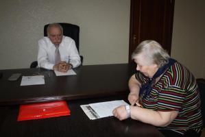 С.В. Муравленко провел в Белгороде депутатский прием
