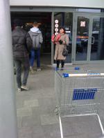 БРО ООД «ВЖС-Надежда России» у здания гипермаркета провели пикет
