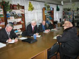 Валерий Шевляков провел прием граждан в Шебекино