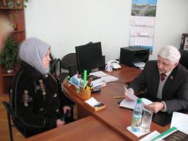 Прием депутата Белгородской областной Думы шестого созыва в Грайворонском районе