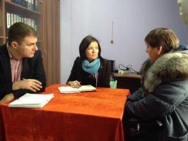 Депутатский приём населения прошёл в  Головинском сельском поселении Белгородского района.