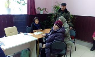 Анастасия Байбикова провела приём граждан в п.Октябрьский Белгородского района.