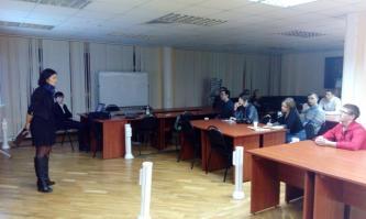 Депутат Белгородской областной Думы Анастасия Байбикова провела лекцию на тему гражданской активности.