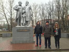 Комсомольцы и молодые коммунисты Белгорода почтили память Карла Маркса