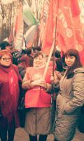 БРО «ВЖС-Надежда России» приняло участие в митинге-концерте «Мы вместе», посвященном вторая годовщина воссоединения Крыма с Россией