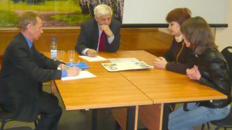 Депутат Белгородской областной Думы Валерия Алексеевич Шевляков провел прием в Яковлевском районе