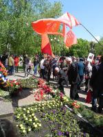 Белгородские коммунисты и их союзники отметили День Победы