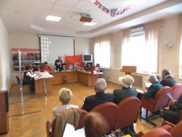 25 мая в Белгороде прошло заседание правления Белгородской региональной общественной организации по защите прав граждан «Дети Великой Отечественной войны»,
