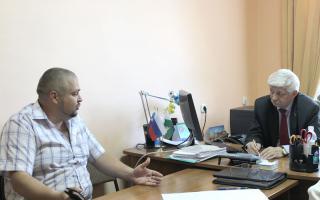 Встреча с жителями Ракитянского района