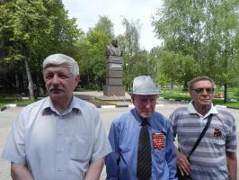 Белгородские коммунисты 22 июня провели митинг-реквием, участники которого призвали дать отпор агрессивным планам НАТО