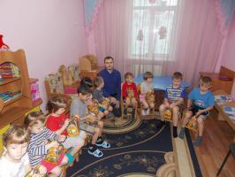 15 января Губкинские комсомольцы посетили