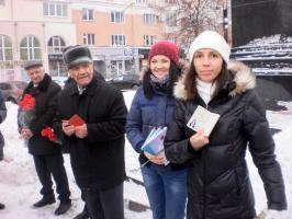Белгородская область: в день памяти вождя мирового пролетариата, целый ряд комсомольцев пополнили ряды партии Ленина!