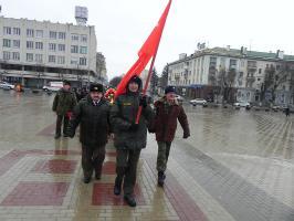 Белгородские коммунисты и их союзники отметили День Советской Армии – День Защитников Отечества