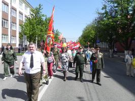 Белгородские коммунисты и их союзники отметили праздник 1 Мая