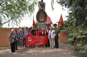 Белгородская область: коммунисты и комсомольцы провели ежегодный мото, автопробег в Валуйском районе, посвящённый Дню Победы