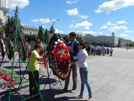 Коммунисты и их сторонники почтили память героев 1941 года