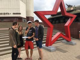 Белгородские комсомольцы отметили 74-ую годовщину Прохоровского сражения.