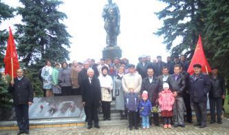В Ровеньском районе проходят мероприятия, посвящённые 100-летию Великой Октябрьской социалистической революции
