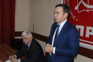 Белгород с рабочим визитом посетил заместитель Председателя ЦК КПРФ Ю.В. Афонин