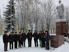 День памяти В.И. Ленина в Губкине