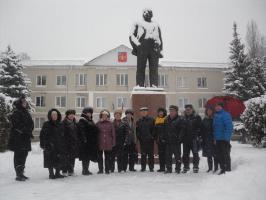 Шебекинские коммунисты почтили память Ленина