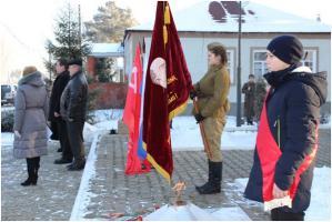 Коммунисты и комсомольцы Грайворонского района Белгородской области почтили память погибшим в Великой Отечественной Войне воинам