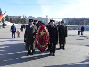 Белгородские коммунисты отметили 100-летие Красной Армии