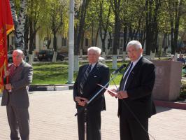 Коммунисты Губкина и их сторонники отметили Первомай митингом