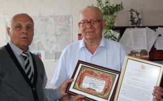 Сергей Гаврилов поздравил с юбилеем ветерана