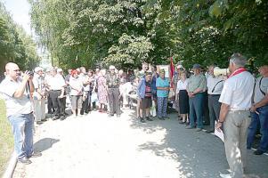 Митинг в Вейделевке