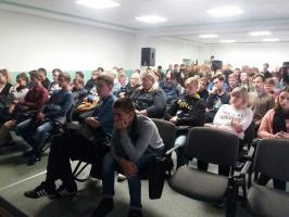 Встреча студентов с ветераном боевых действий на Кавказе Сушковым А.В.